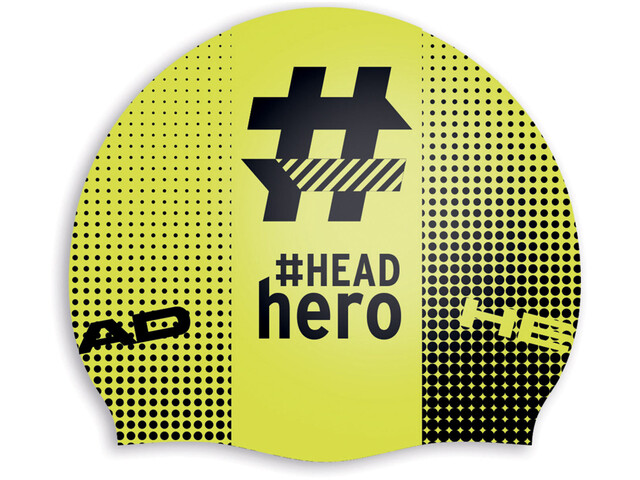 Head Hashtag Silcone Suede Czapka, headhero